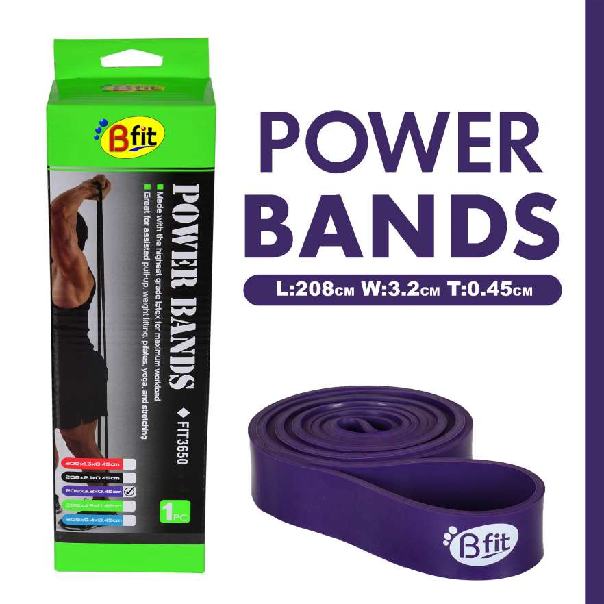 Power Bands Bfit LS3650 Purple (3.2cm)