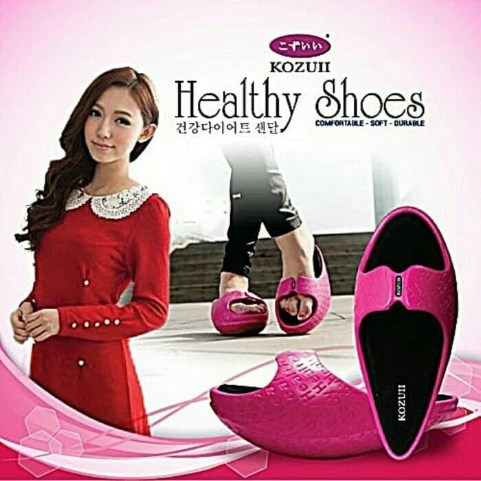 Sandal Kesehatan Pelangsing Tubuh Jaco Kozuii Slim Pink