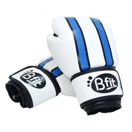 Boxing Glove Bfit 3086 White-Blue