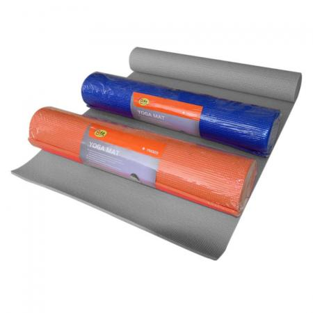 Bfit Yoga Mat YM323 6mm Blue/Orange