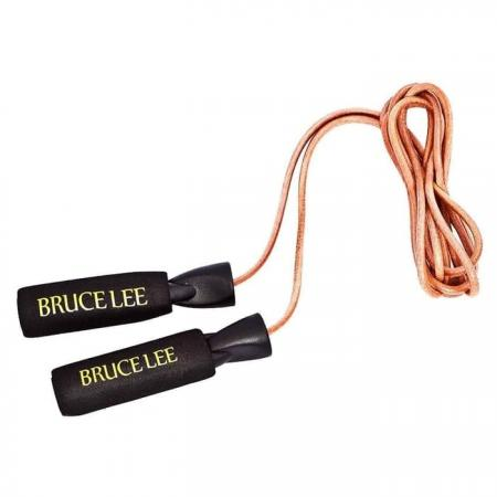 Bruce Lee Signature Leather Skipping Rope