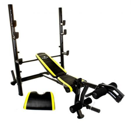 Bruce Lee Signature Mid-Width Weight Bench Adjustable