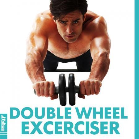 Double Wheel Exerciser ClubFit BC01