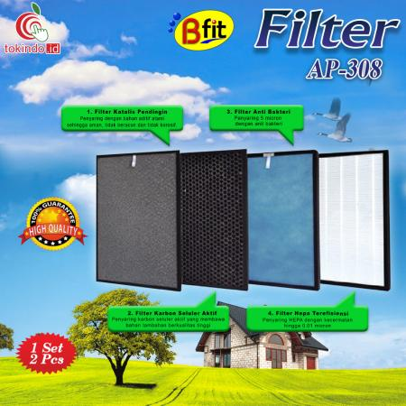 Filter Air Purifier Bfit 308