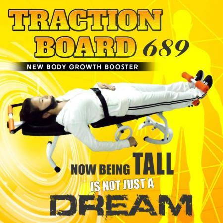 Traction Couch Bfit 689A - Alat Peninggi Badan