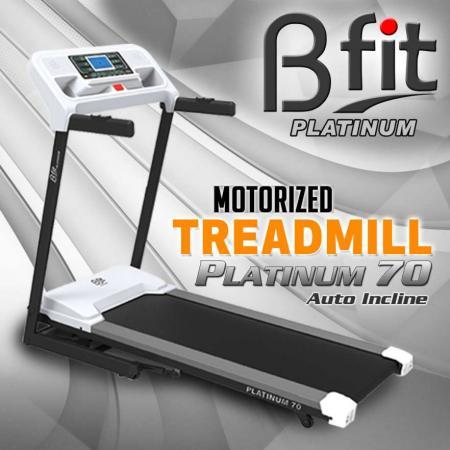 Treadmill Listrik Bfit Platinum 70