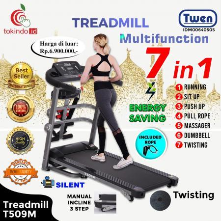 Treadmill Listrik MultiFungsi Twen Model T509