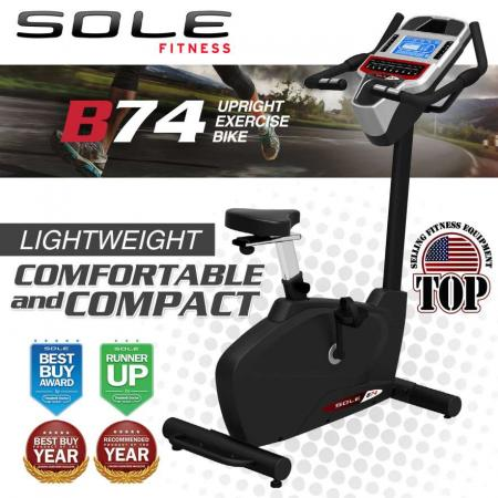 Upright Exercise Bike Sole B74
