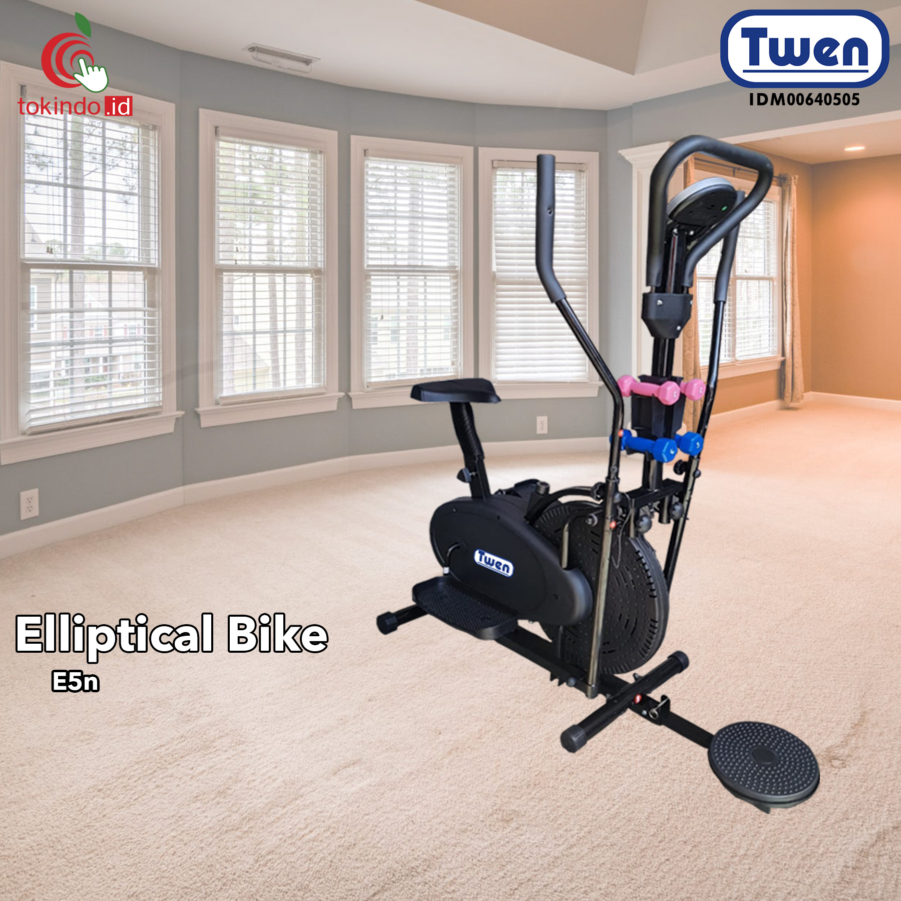 Twen Elliptical Bike E5N